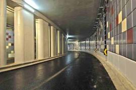 """<div style=""""text-align:center; color:white;""""><div style=""""font-size:17px; """">Rego Tunnel</div><br>Client: Município de Lisboa<br>Year: 2004 – 2005</div>"""