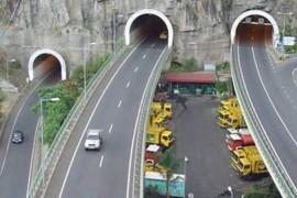 """<div style=""""text-align:center; color:white;""""><div style=""""font-size:17px; """">Câmara de Lobos / Ribeira Brava Expressway, 1st and 2nd phases (Madeira) *</div><br>Client: Governo Regional da Madeira<br>Year: 1991 – 1997</div>"""
