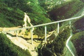 """<div style=""""text-align:center; color:white;""""><div style=""""font-size:17px; """">Bridge over Ribeira de Alge</div><br>Client: JAE – Junta Autónoma de Estradas <br>Year: 1992 – 1993</div>"""