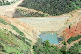 "<div style=""text-align:center; color:white;""><div style=""font-size:17px; "">Odelouca Dam</div><br>Client: INAG<br>Year: 2001 – 2005</div>"