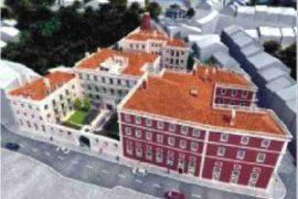 """<div style=""""text-align:center; color:white;""""><div style=""""font-size:17px; """">Bâtiment Résidentiel à Alcântara</div><br>Client: Profelix, Lda<br>Année: 2007 – 2007</div>"""