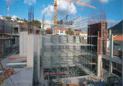 """<div style=""""text-align:center; color:white;""""><div style=""""font-size:17px; """">Centro Congressos Porto Santo</div><br>Cliente: Sociedade de Desenvolvimento de Porto Santo SA<br>Ano: 2001 – 2003</div>"""