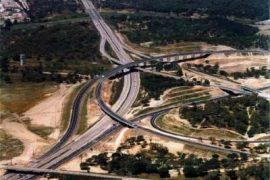 """<div style=""""text-align:center; color:white;""""><div style=""""font-size:17px; """">Plot C Pegões – Marateca Sub-section on the A13</div><br>Client: Brisa- Auto Estradas de Portugal, S.A. <br>Year: 2002 – 2002</div>"""