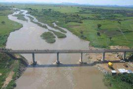 """<div style=""""text-align:center; color:white;""""><div style=""""font-size:17px; """">Reconstruction of the Cubal Railway Bridge (Angola) *</div><br>Client: Caminhos de Ferro do Benguela<br>Year: 2001 – 2003</div>"""