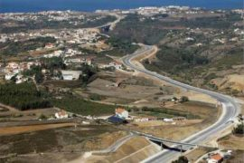 """<div style=""""text-align:center; color:white;""""><div style=""""font-size:17px; """">Ericeira / Mafra and link road connection to Mafra / Malveira</div><br>Client: Mafratlântico – Vias Rodoviárias, EM <br>Year: 2008 – 2008</div>"""
