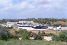 """<div style=""""text-align:center; color:white;""""><div style=""""font-size:17px; """">Wastewater interception and treatment (Albufeira)</div><br>Client: Águas do Algarve, SA<br>Year: 2009 – 2009</div>"""