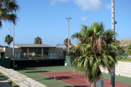 "<div style=""text-align:center; color:white;""><div style=""font-size:17px; "">Porto Santo Tennis Complex</div><br>Client: Sociedade de Desenvolvimento de Porto Santo SA<br>Year: 2004 – 2004</div>"