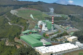 """<div style=""""text-align:center; color:white;""""><div style=""""font-size:17px; """">Meia Serra Solid Waste Treatment Plant *</div><br>Client: Governo Regional da Madeira<br>Year: 1999 – 2005</div>"""
