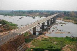 "<div style=""text-align:center; color:white;""><div style=""font-size:17px; "">Bridge across the Lugela River (Mozambique)</div><br>Client:  ANE – Administração Nacional de Estradas <br>Year: 2009 – 2009</div>"