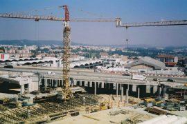 """<div style=""""text-align:center; color:white;""""><div style=""""font-size:17px; """">V2 and V3 viaducts (Estação das Antas; Porto)</div><br>Client: Câmara Municipal do Porto<br>Year: 2002 – 2003</div>"""
